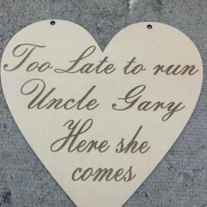 Flower Girl & Page boy signs