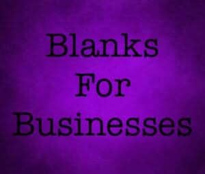 Blanks For Business
