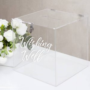 Wishing well & card boxes